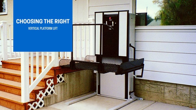 choosing the right wheelchair lift