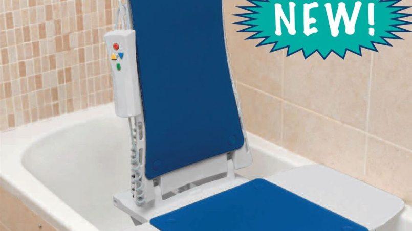 Drive Medical Blue Whisper Ultra Quiet Bathtub Lift - Super Easy ...