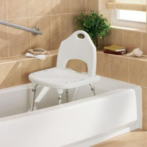 bathroom safety for seniors - shower chair