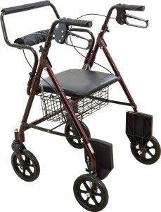 roscoe rollator transport chair
