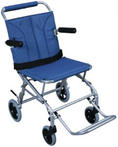 Super Light folding portable wheelchair