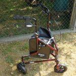 3 wheel rollator walker