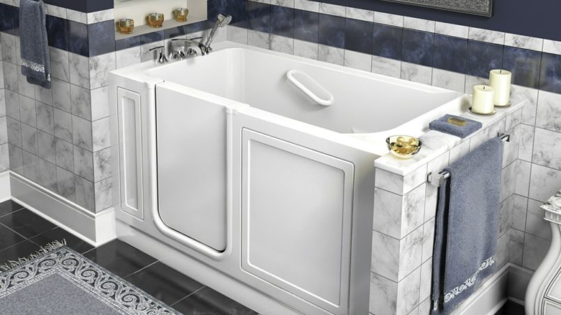 Walk in Bathtubs: Installation, Cost, Accessories. and Pros and Cons