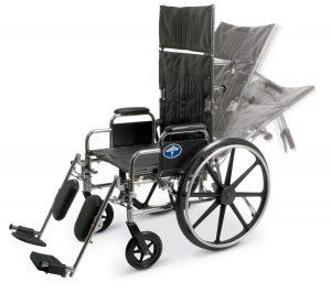 Medline Excel reclining wheelchair