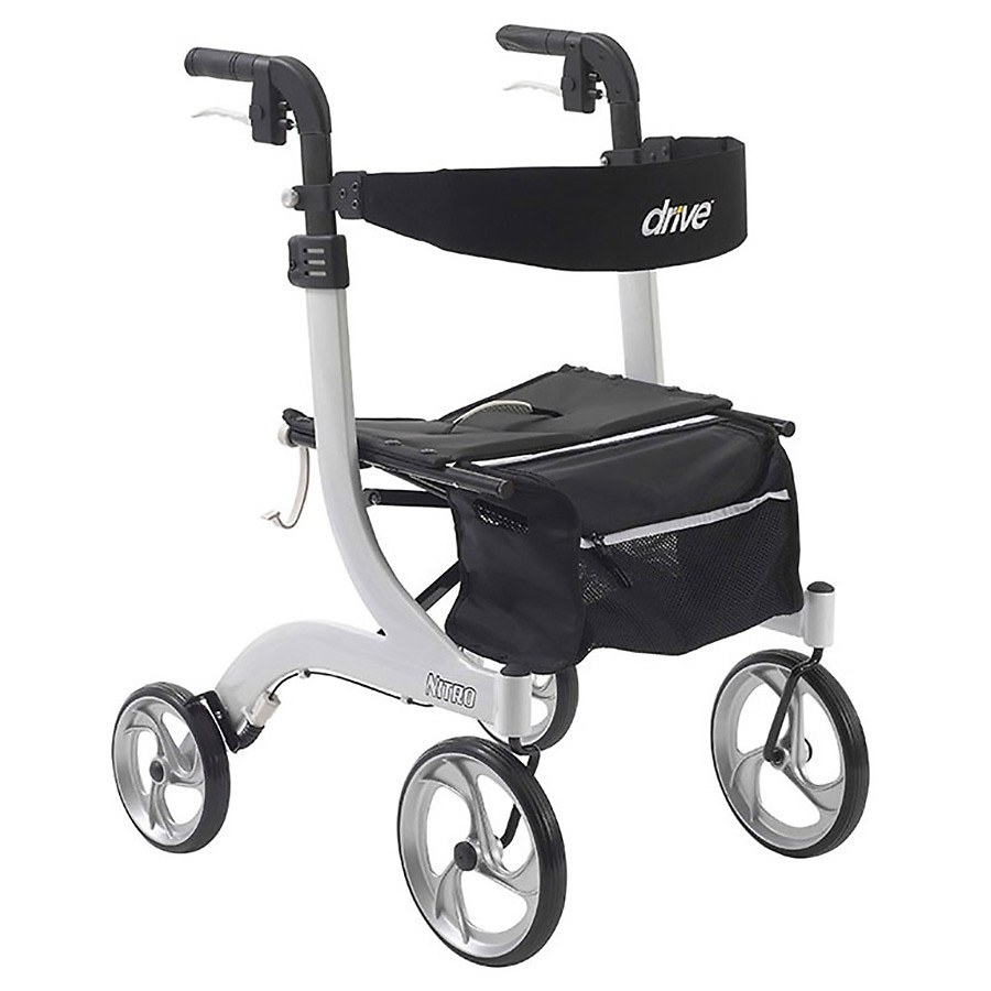 drive medical nitro 4 wheel walker