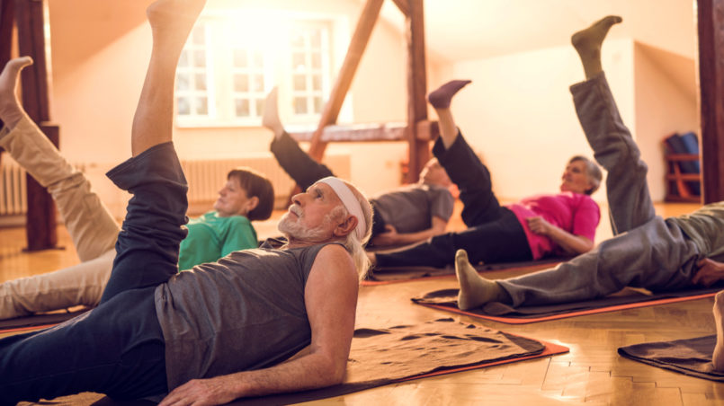 3 Spine Stretches And 2 Sciatica Exercises For The Elderly