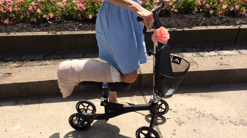 Fine Best Knee Walker For Broken Foot Or Ankle Leg Injury Ncnpc Chair Design For Home Ncnpcorg