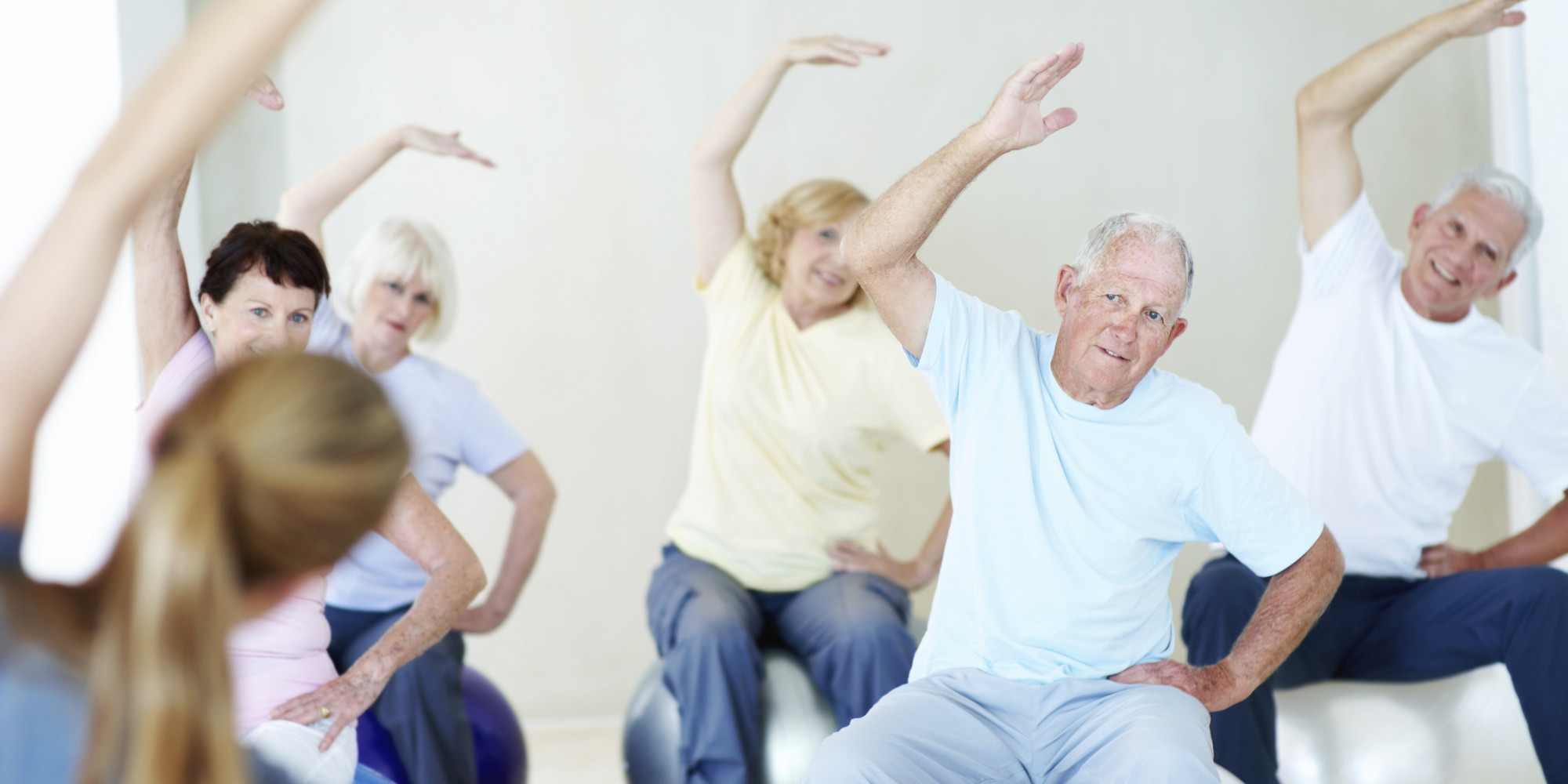 Simple back exercises for seniors