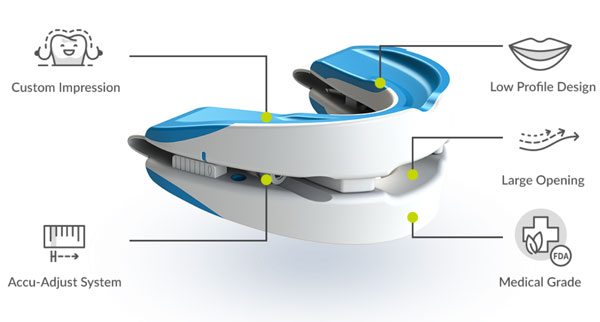 vitalsleep mouthpiece diagram