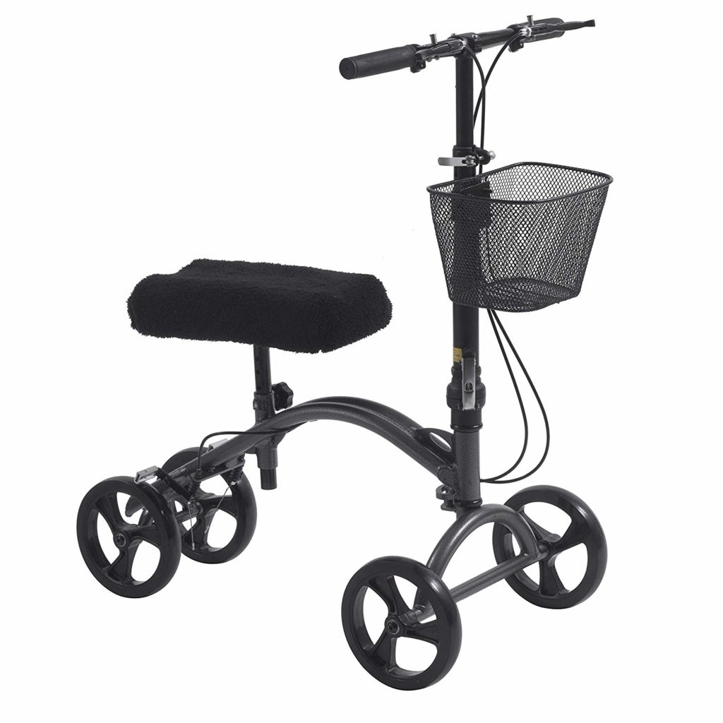 Drive DV8 Aluminum Steerable Knee Walker
