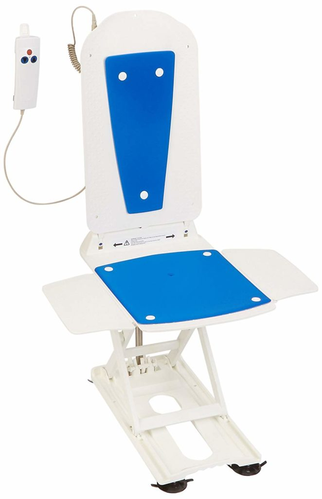Bathmaster Deltis Bathlift, Motorized Bath and Shower Seat