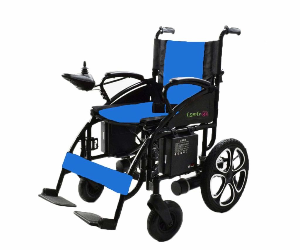 ComfyGO Electric Wheelchair Folding Motorized Power Wheelchairs