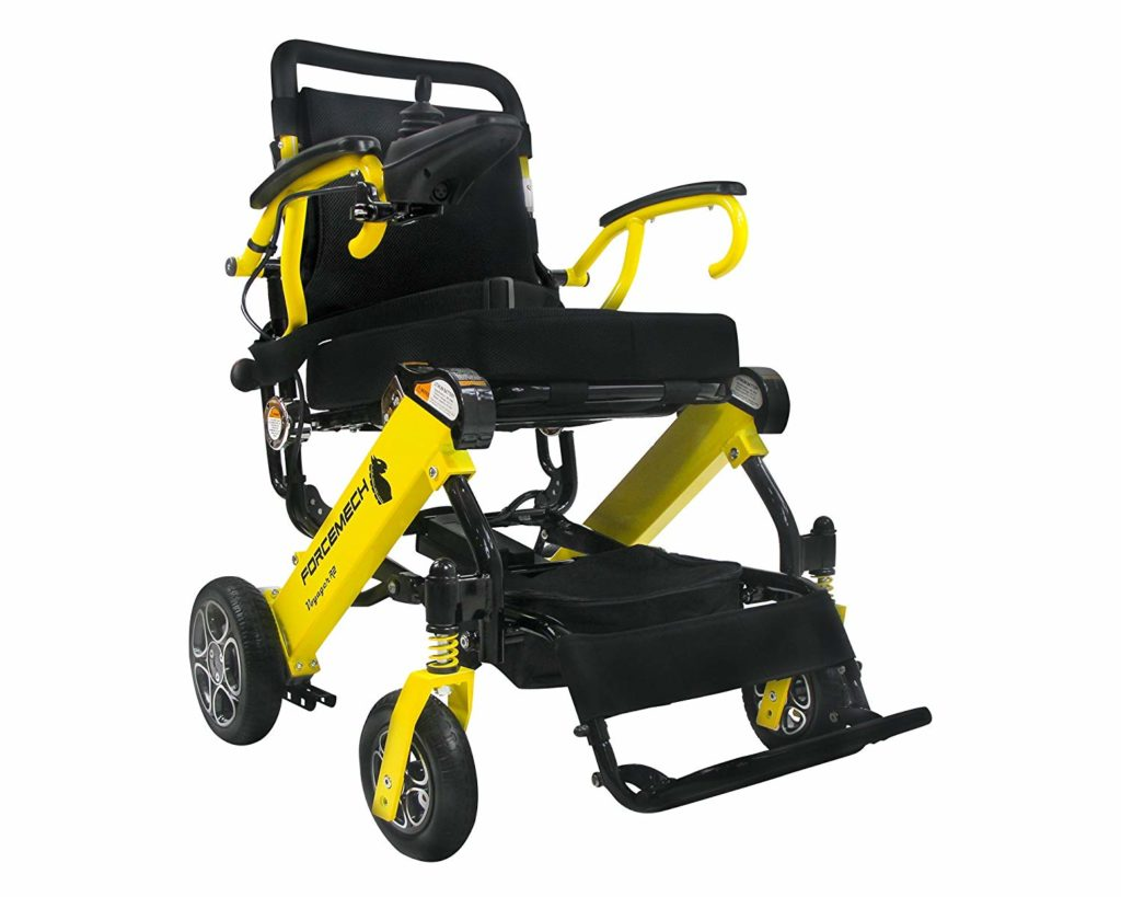 Forcemech Voyager R2 Folding Power Wheelchair
