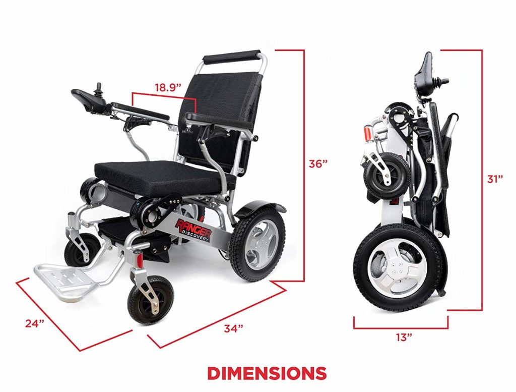 Porto Mobility Ranger D09, No.1 Best Rated Exclusive Portable Power Wheelchair